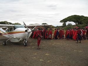 Rencontre avec nos amis Masaï